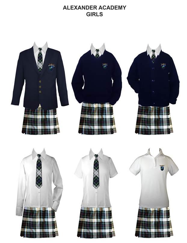 Uniforms | Alexander Academy