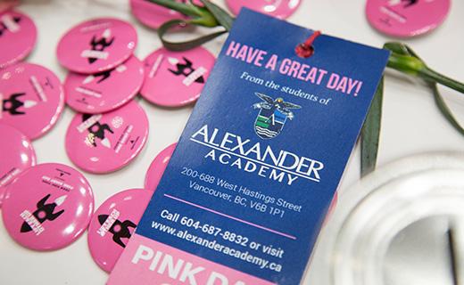 Alexander Academy Pink Day